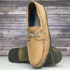 Sperry Top Sider Leeward Leather 2-Eye Boat Shoes
